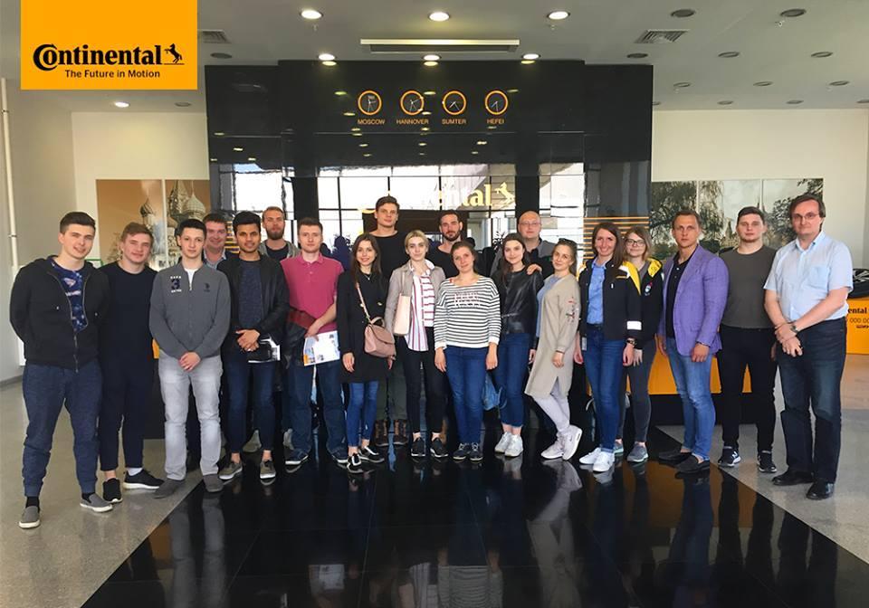 Continental Kaluga начал работу с ведущими ВУЗами страны