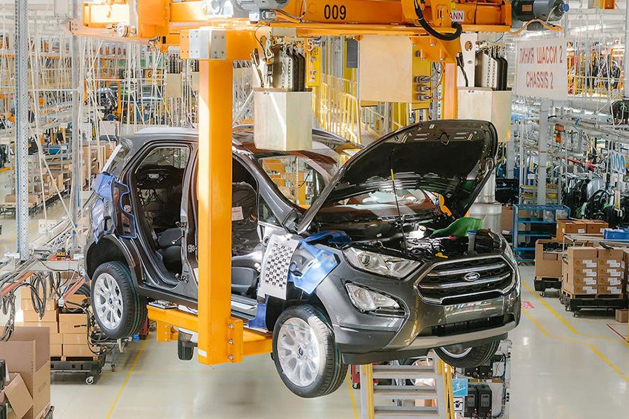 Ford начал собирать в России обновленный EcoSport