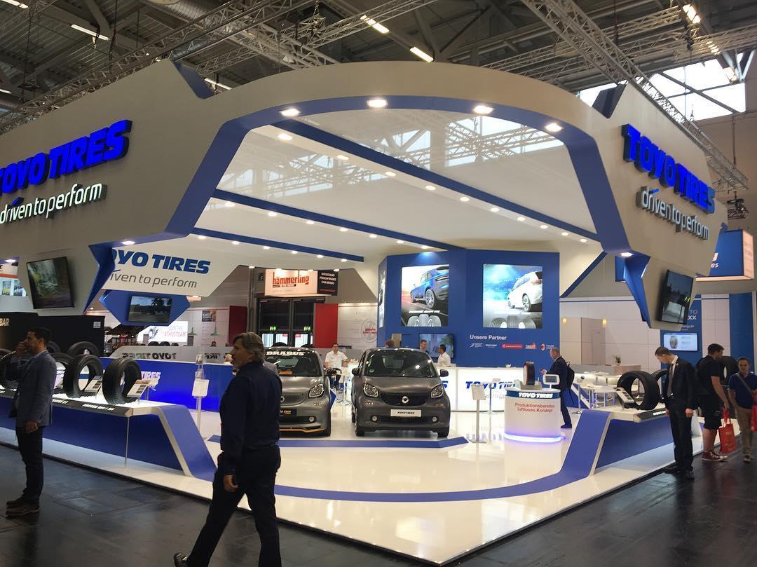 Toyo Tires дебютировала в Кёльне с двумя новыми шинами для коммерческих автофургонов