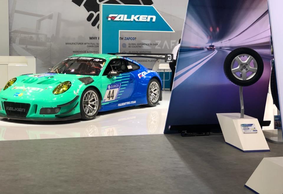 На выставке в Германии состоялась премьера новой всесезонки премиум-класса от Falken Tyres