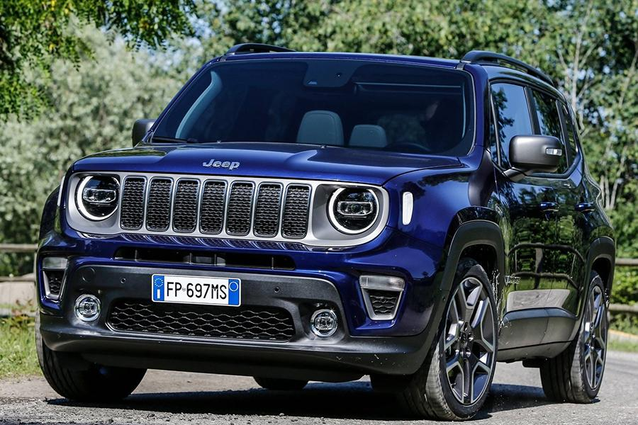 Jeep обновил внедорожник Renegade