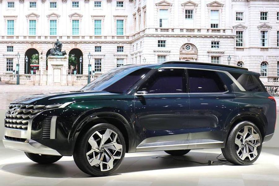 Hyundai показал у себя на родине концептуальный кроссовер