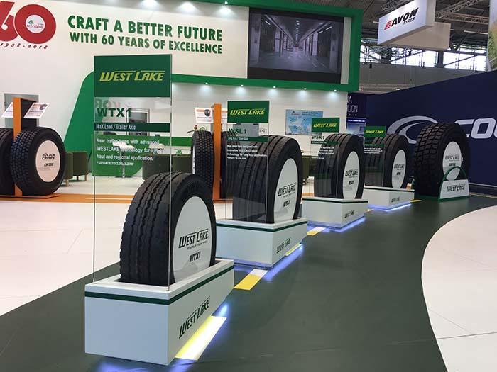 Westlake привезла в Кельн грузовые шины с увеличенным индексом нагрузки