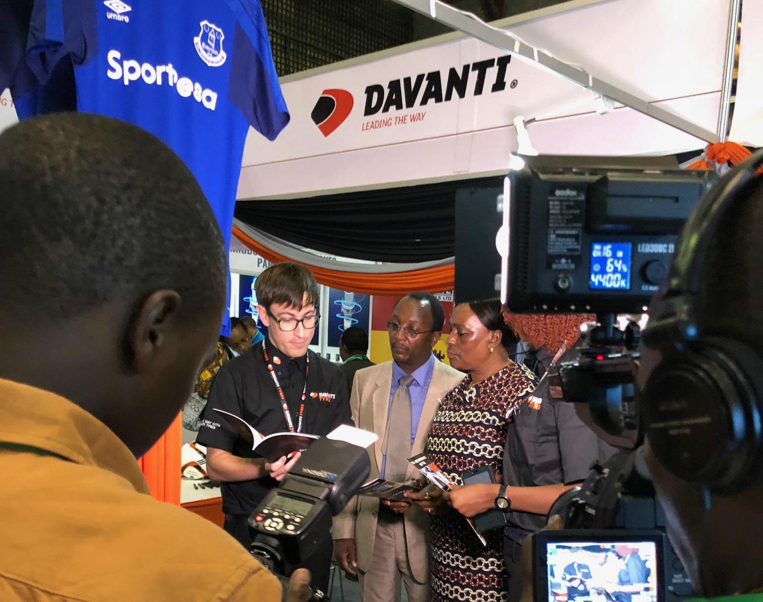 Шины Davanti вызвали повышенный интерес у посетителей выставки AutoExpo Africa 2018