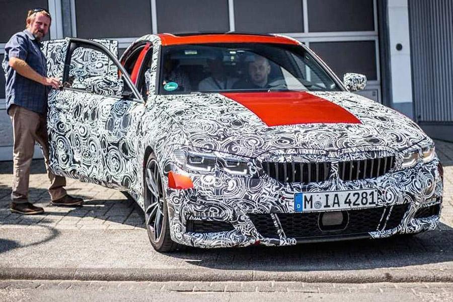 BMW 3-Series попался фотошпионам