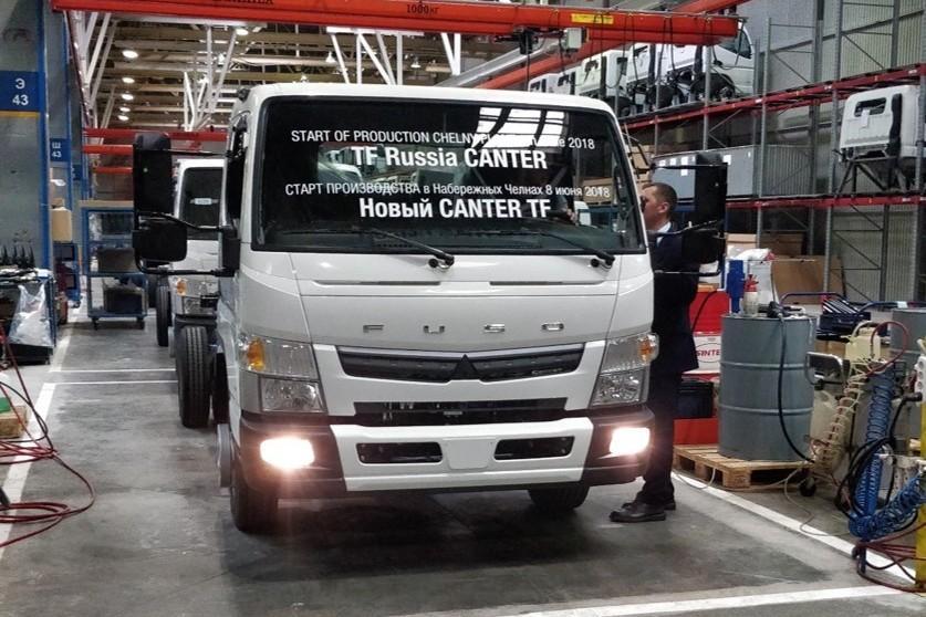 В Набережных Челнах начали собирать новый грузовик