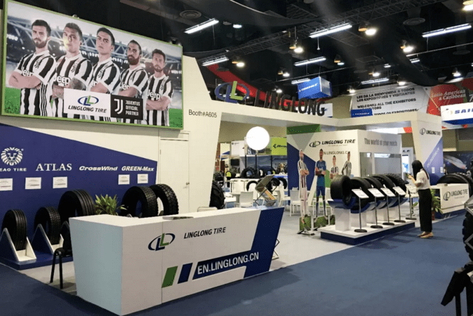 Linglong Tire на выставке Latin American & Caribbean Tyre Expo 2018