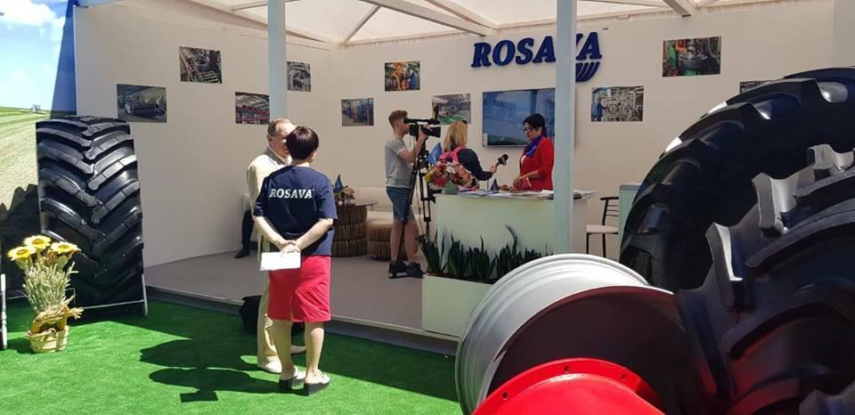 Премьеры агрошин Rosava Agros на выставке AGRO 2018