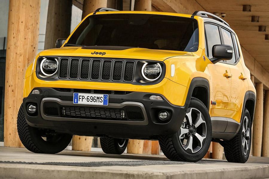 Jeep рассказал подробнее об обновленном Renegade