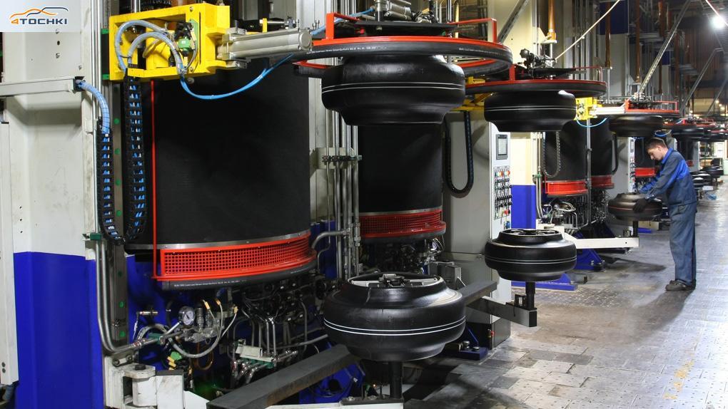 На омском заводе «Кордиант-Восток» продолжается модернизация производства