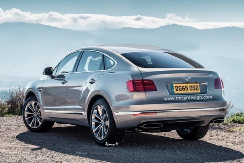 Bentley выпустит купе-кроссовер Bentayga Sport