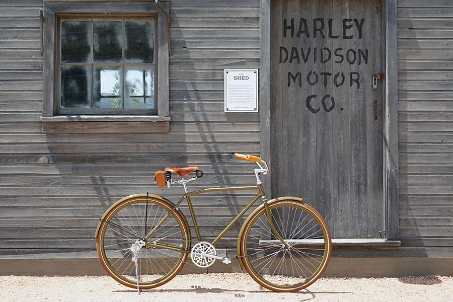 Под маркой Harley-Davidson выпустят велосипед