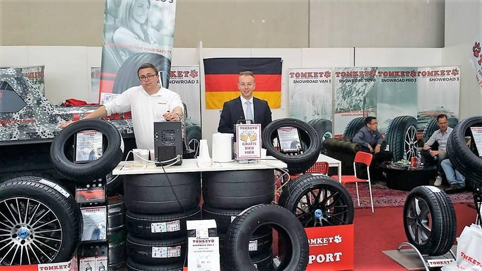 Tomket Tires представила в Кельне свои первые всесезонки
