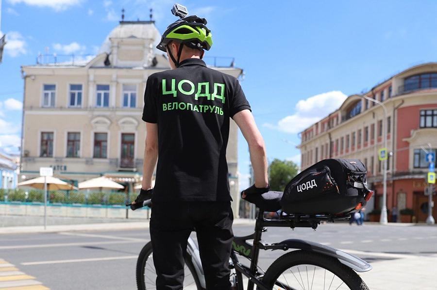 ЦОДД запустил в столице велопатруль