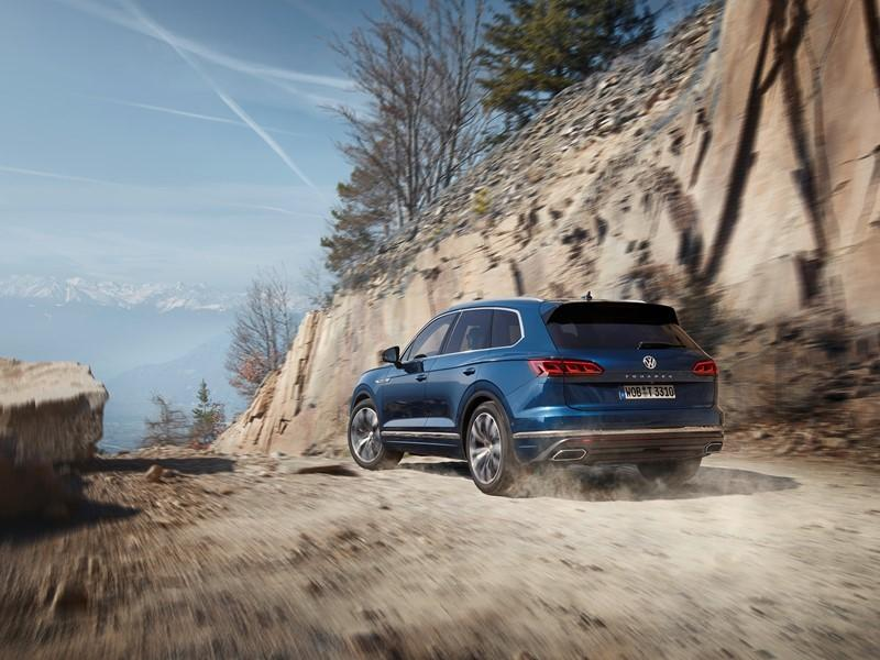 Шины Goodyear выбраны для оригинальной комплектации новых Volkswagen Touareg