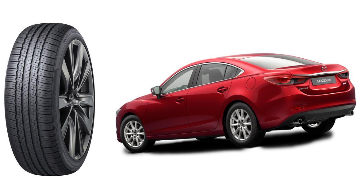 Для первичной комплектации новой Mazda6 выбраны всесезонки Falken