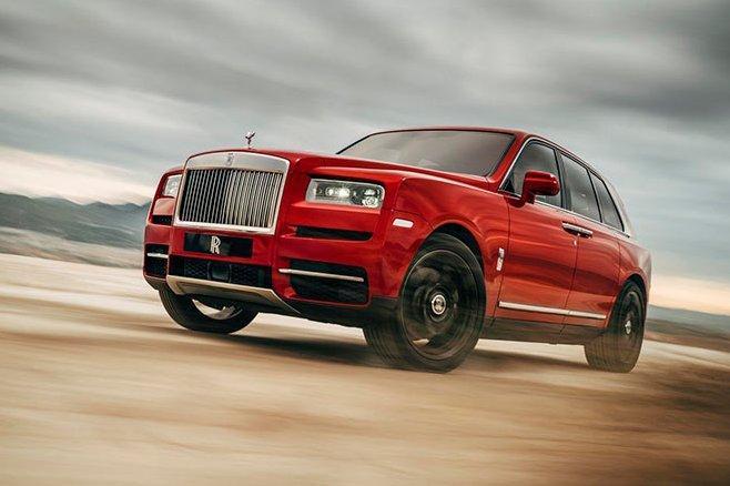Cullinan останется единственным внедорожником Rolls-Royce