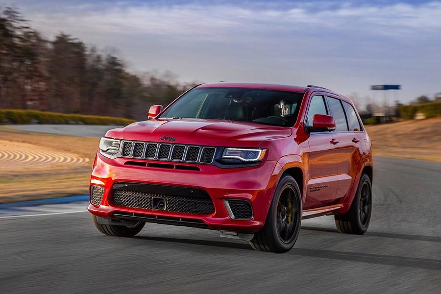 Jeep привез в Россию самый мощный Grand Cherokee