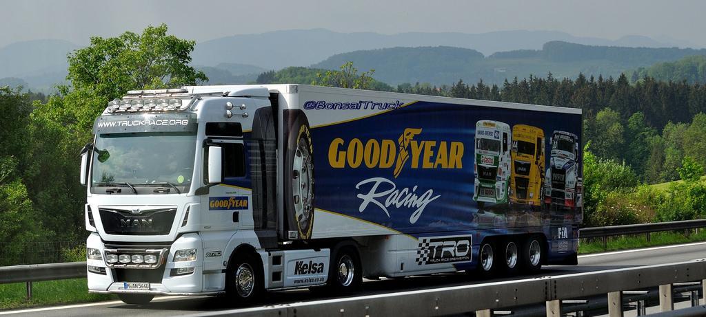 Goodyear - эксклюзивный поставщик шин в европейский трак-рейсинг