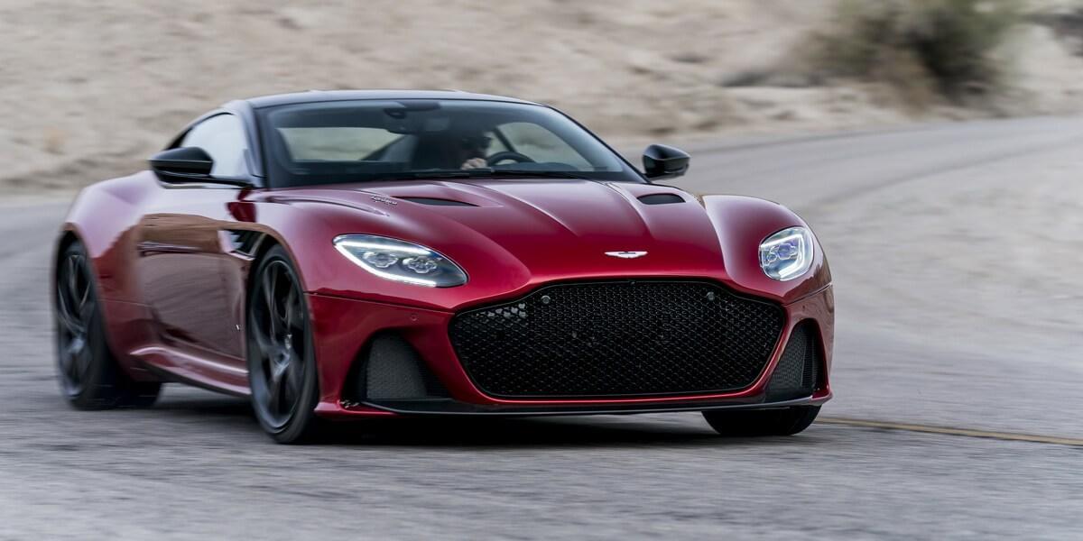 Новый DBS Superleggera будут оснащать «тихими» покрышками Pirelli P Zero