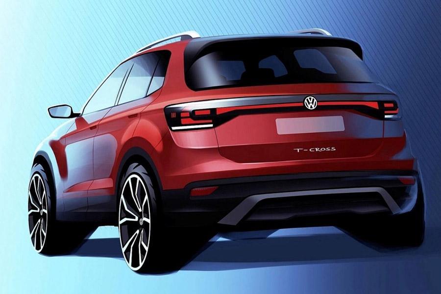 Самый маленький SUV Volkswagen: первые изображения
