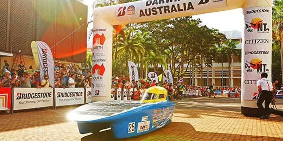 Bridgestone в 15-й раз станет титульным спонсором гонки World Solar Challenge