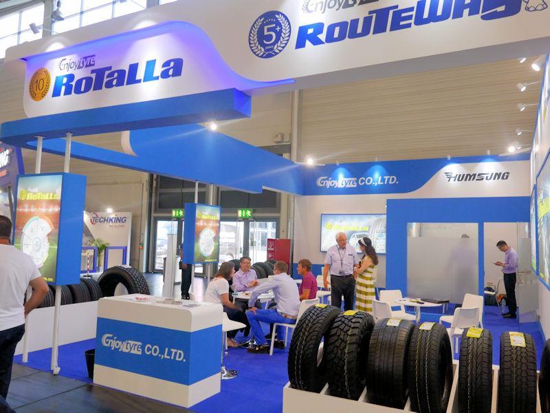Enjoy Tyre ведет работу над первой линейкой всесезонных шин бренда Rotalla