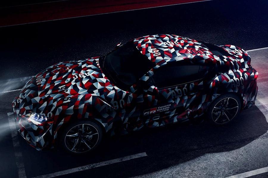 Toyota Supra дебютирует в Гудвуде