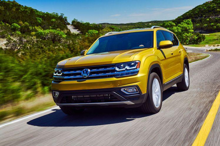 Volkswagen Teramont отзывают, едва начав продавать