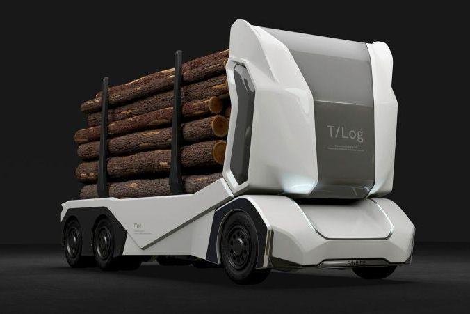 Шведы разработали грузовик будущего