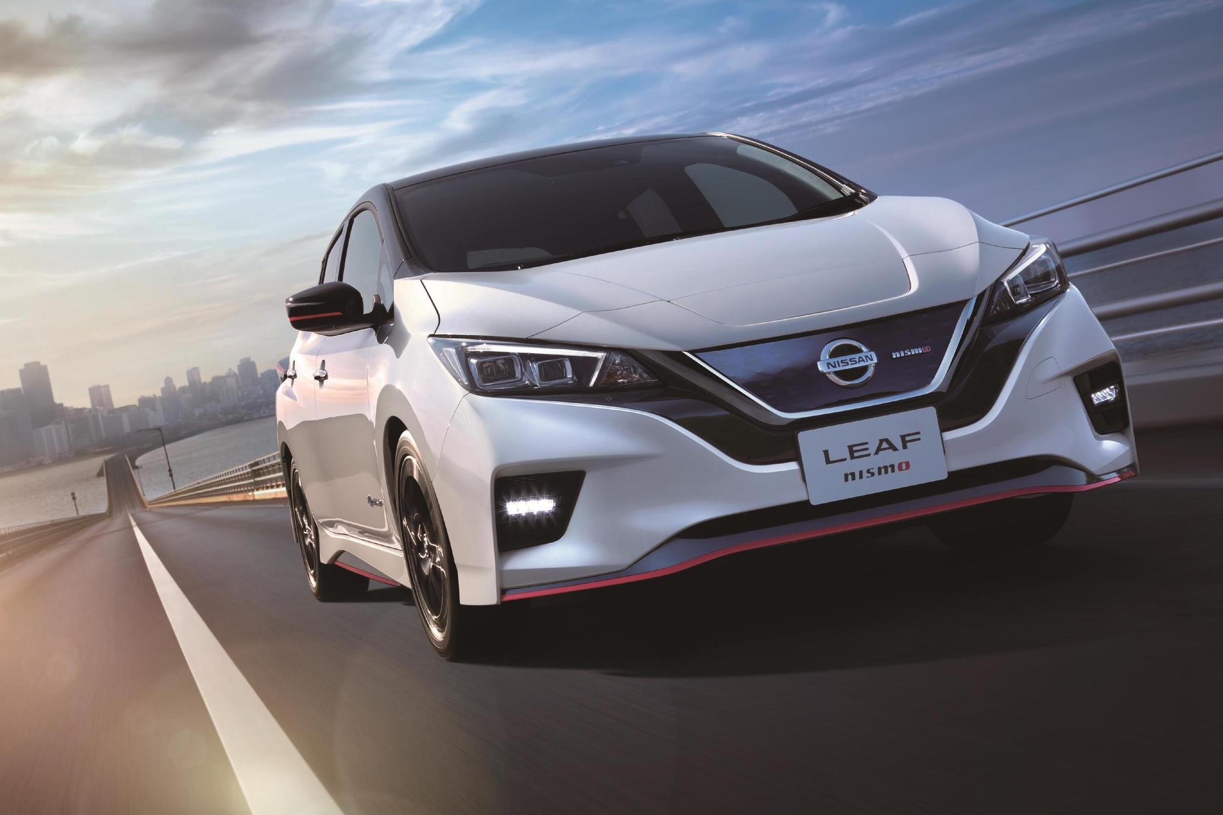 Nissan Leaf прокачали в подразделении Nismo