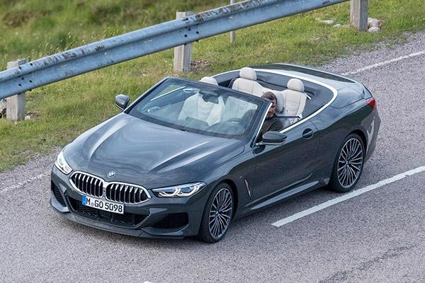 Фотошпионам попался кабриолет BMW 8-Series