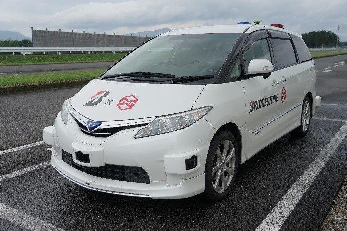Bridgestone будет тестировать шины с помощью беспилотных автомобилей