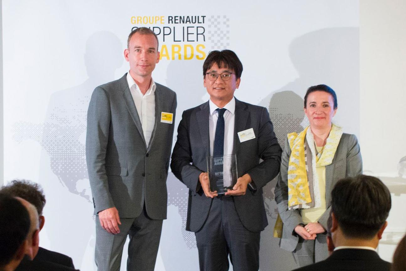Groupe Renault наградила Hankook Tire премией Supplier Awards 2018