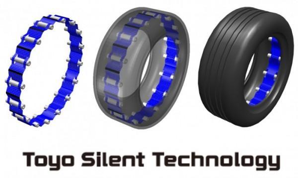 Toyo представила новое решение для снижения шума от шин