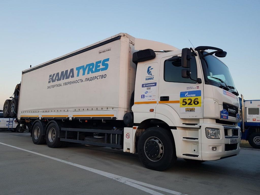 Грузовые шины Кama помогли экипажам «КАМАЗ-мастер» выиграть гонку «Шелковый путь 2018»