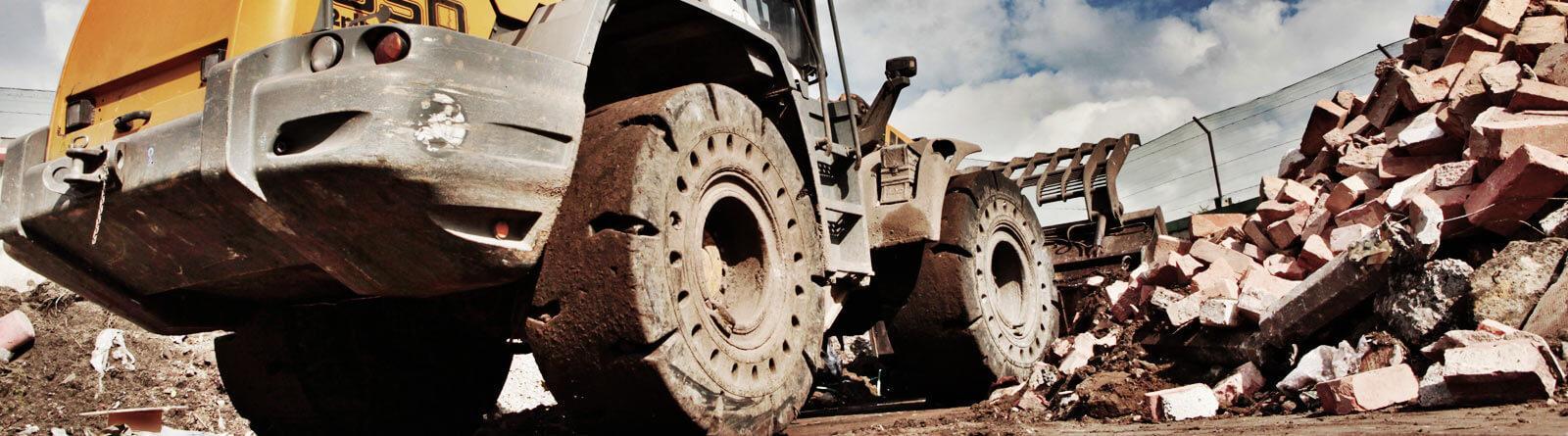 Trelleborg будет поставлять Caterpillar шины для комплектации колесных погрузчиков
