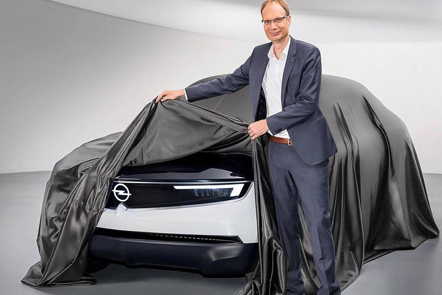 Opel приоткрыл концепт в новом дизайнерском стиле