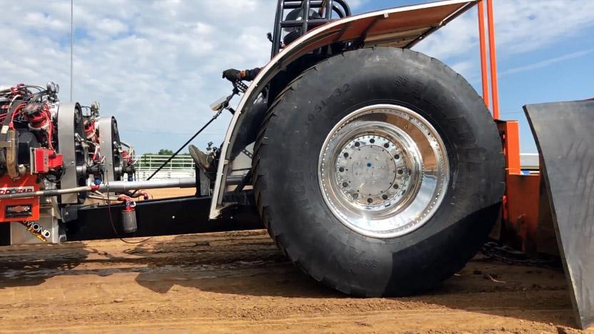 ATG представила новую шину для трактор-пуллинга