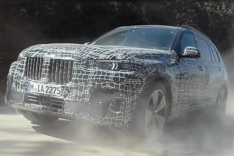 BMW X7 стал героем фирменного видео