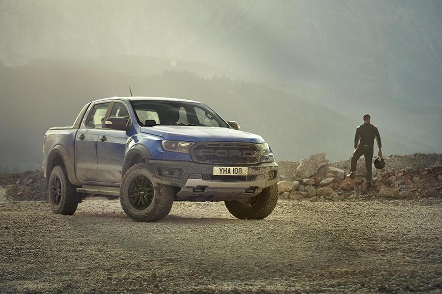 Ford показал пикап Raptor для Европы