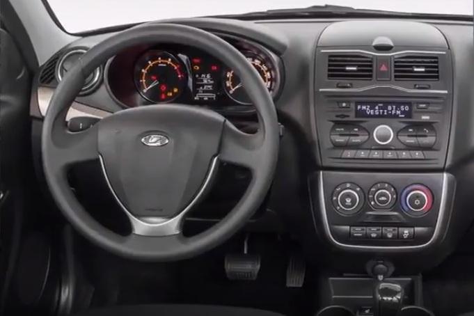 АвтоВАЗ рассекретил интерьер обновленной Lada Granta