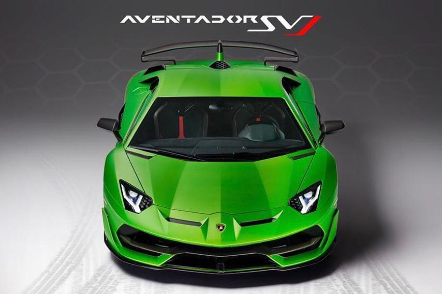 Британский дилер рассекретил Lamborghini Aventador SVJ