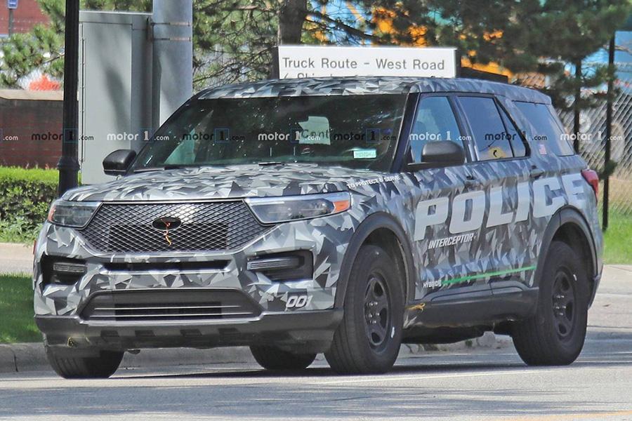 Новый Ford Explorer стал добычей фотошпионов