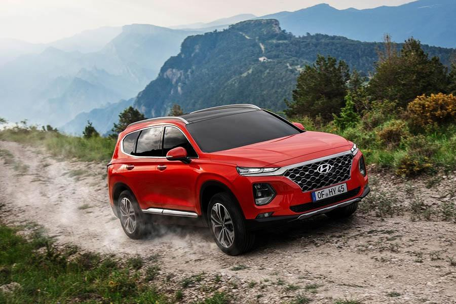 Автосалон в Москве 2018: Hyundai Santa Fe