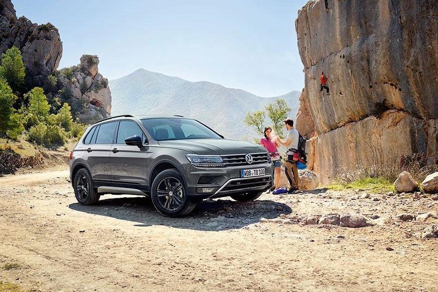 Автосалон в Москве 2018: Volkswagen Tiguan Offroad