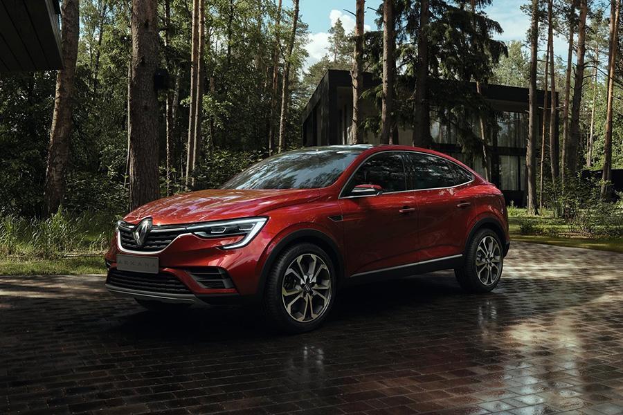 Автосалон в Москве 2018: Renault Arkana
