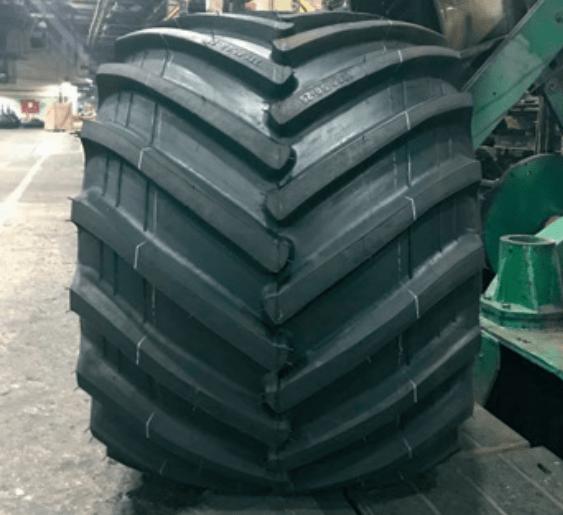 На АШК сделали самую широкую шину в России