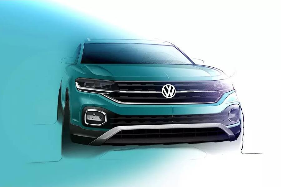 Volkswagen засветил интерьер кроссовера T-Cross