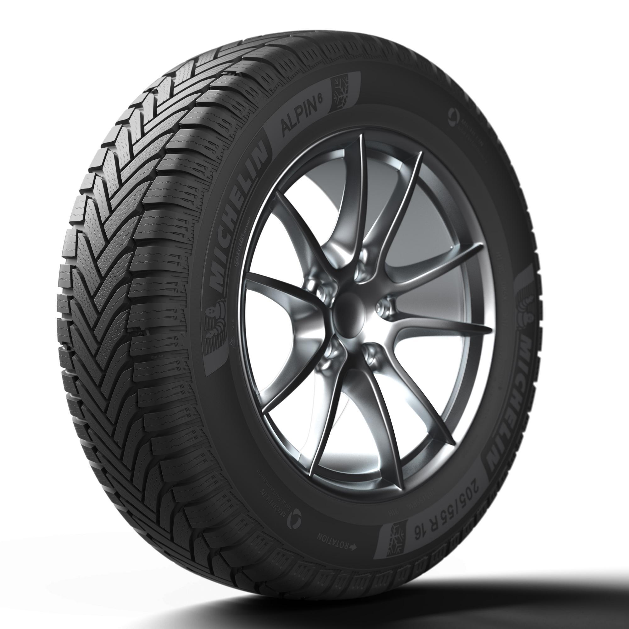 Зимние шины Michelin Alpin 6 - гарантия безопасности в течение всего срока эксплуатации